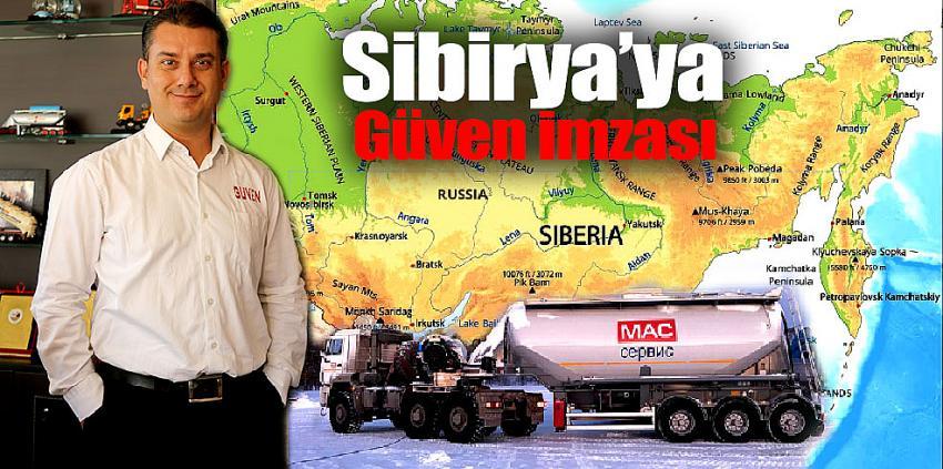 Sibirya topraklarına Güven imzası